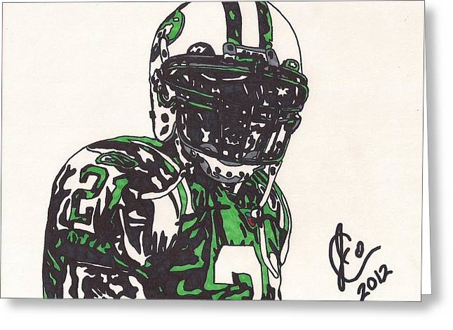 Player Greeting Cards - Ladainian Tomlinson 2 Greeting Card by Jeremiah Colley