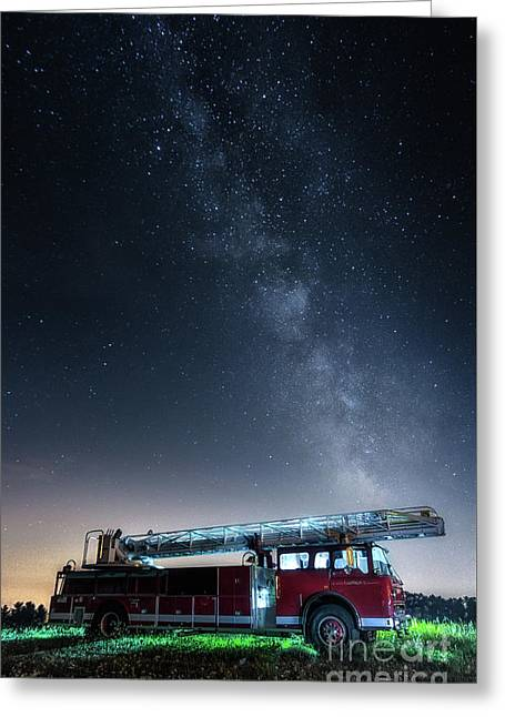Ladder 1 Greeting Card by Scott Thorp