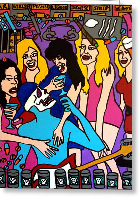 Pill Drawings Greeting Cards - Ladies Greeting Card by Arne Henn