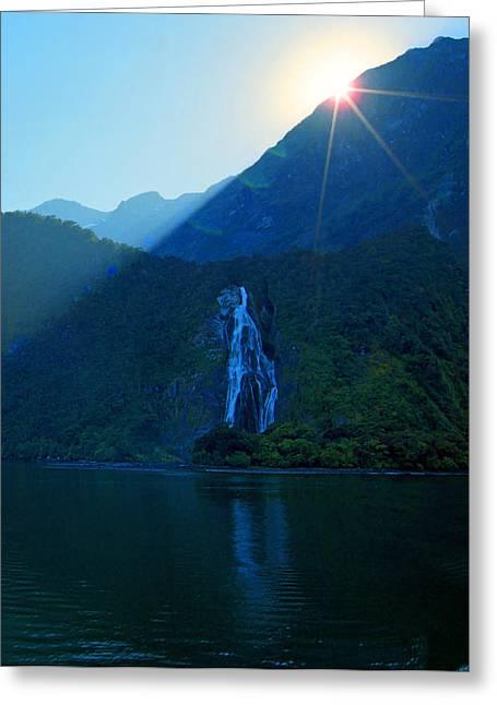 First-lady Greeting Cards - Lady Bowen Falls Greeting Card by Kevin Smith