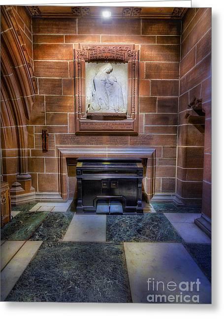 Pipe Organ Greeting Cards - Lady Chapel Organ Greeting Card by Ian Mitchell