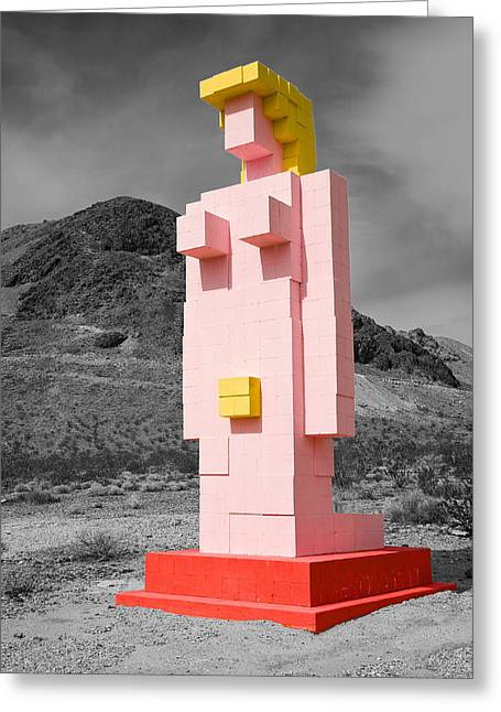 Desert Prints Greeting Cards - Lady Desert The Venus of Nevada Greeting Card by James Marvin Phelps