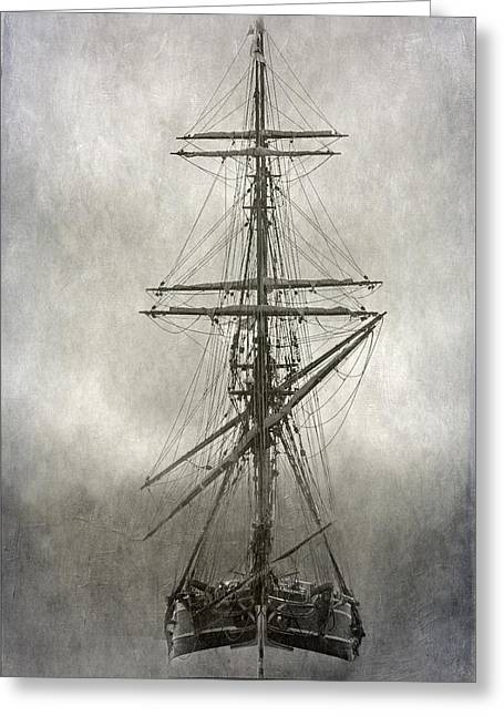 Wooden Ship Photographs Greeting Cards - Lady Washington Greeting Card by Angie Vogel