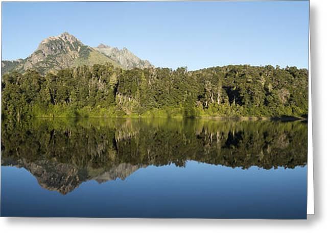 Lago Escondido Greeting Card by Christian Heeb