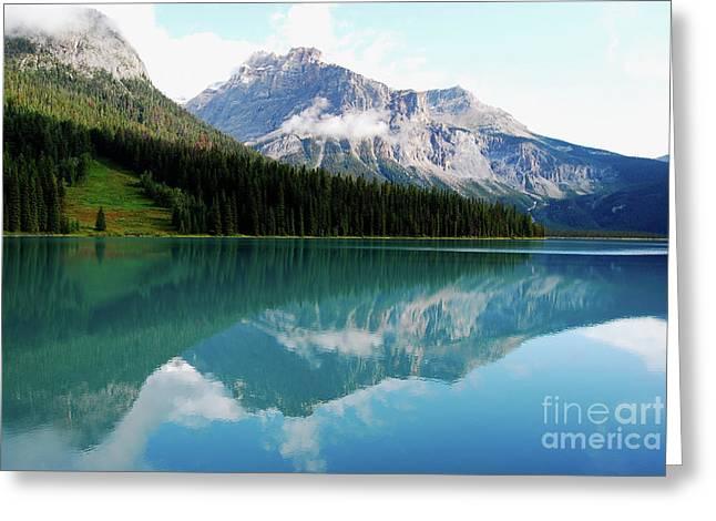 Lago Leandro Greeting Card by Cesar Marino
