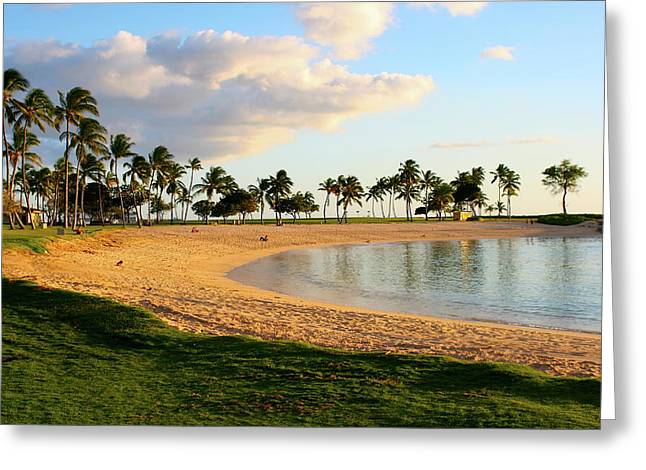 Ko Olina Lagoon Greeting Cards - Lagoon 4 Greeting Card by Eddie Freeman