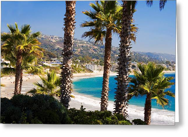 Spectacular Ocean Vistas Greeting Cards - Laguna Beach California Coast Greeting Card by Utah Images