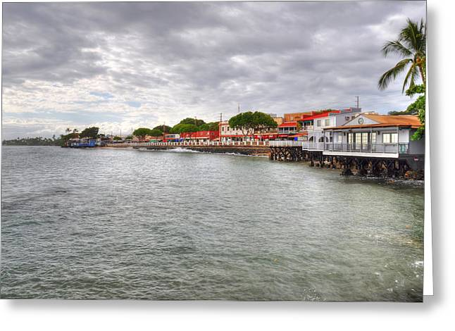 Lahaina Photographs Greeting Cards - Lahaina Postcard Greeting Card by Kelly Wade