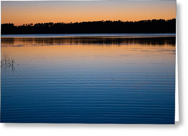 Colorful Photos Greeting Cards - Lake at Dusk Greeting Card by Parker Cunningham