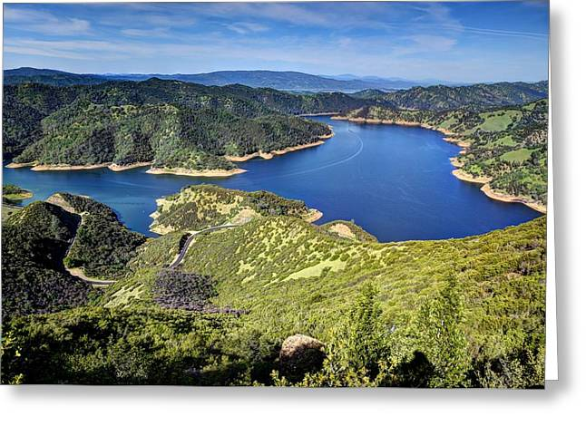 Lake Berryessa Greeting Cards - Lake Berryessa Greeting Card by Mark Ruanto