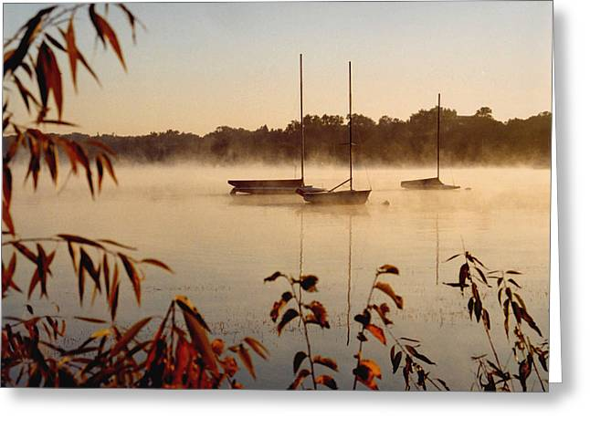 Kathy Schumann Greeting Cards - Lake Calhoun Greeting Card by Kathy Schumann