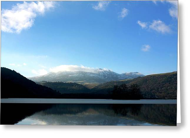 Reflecting Water Greeting Cards - Lake in Auvergne Greeting Card by Bernard Jaubert