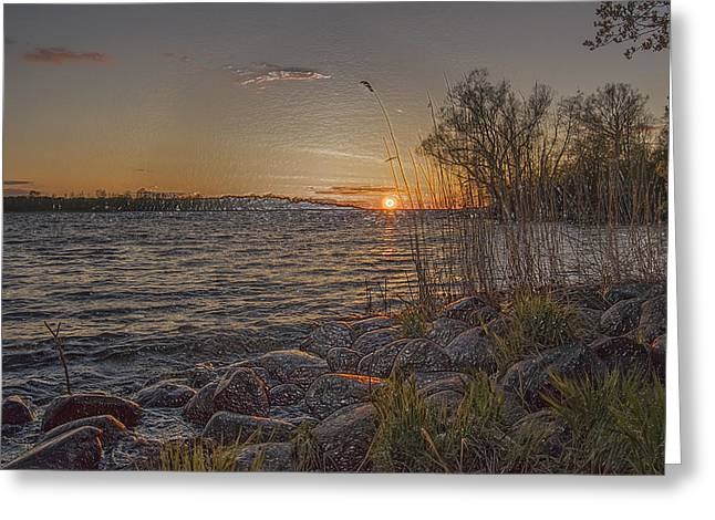 Ocean Panorama Greeting Cards - Lake-IX Greeting Card by Scott Mendell
