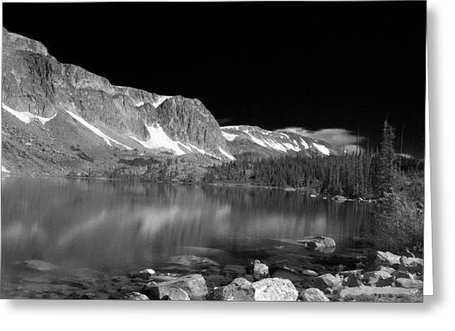Lake Marie and Company Greeting Card by Nena Trapp