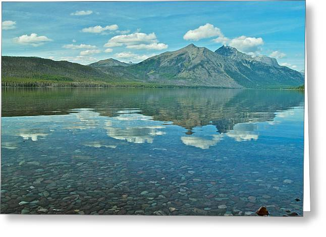 Lake Mcdonald Greeting Cards - Lake McDonald Greeting Card by Michael Peychich