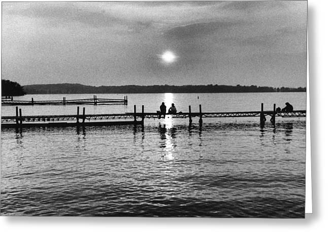 Lake Mendota in Madison Greeting Card by Arvind Garg