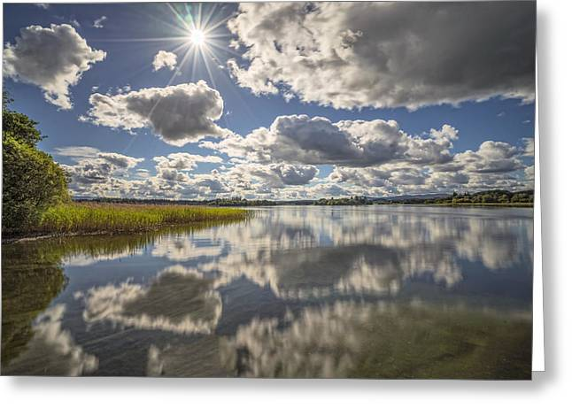Jeremy Greeting Cards - Lake of Menteith Greeting Card by Jeremy Lavender Photography