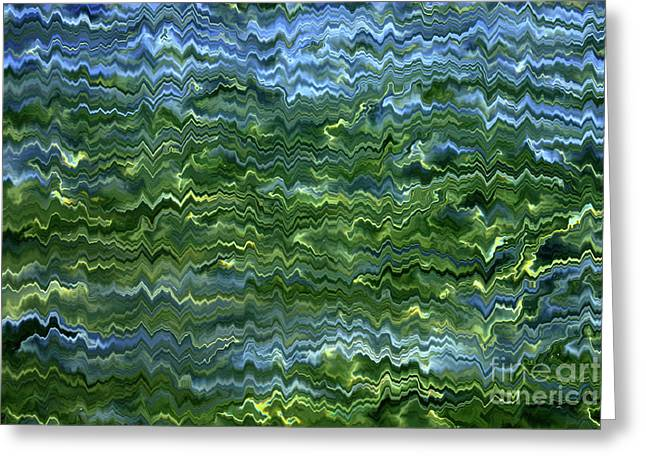 Lake Tahoe Abstract Greeting Card by Carol Groenen