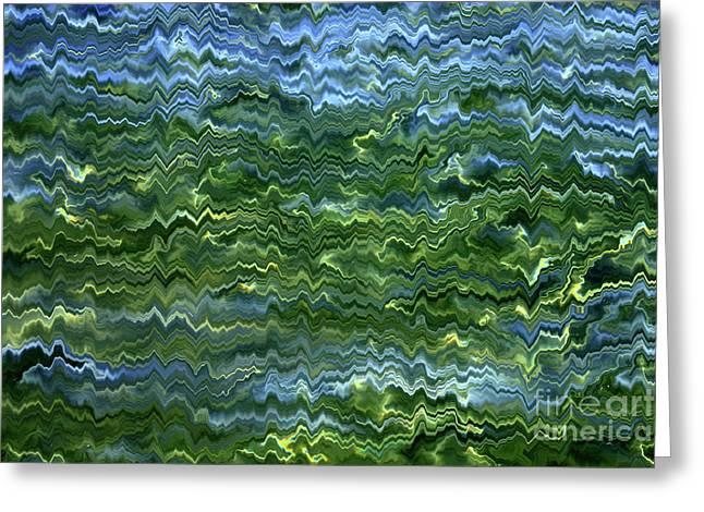Lake Tahoe Abstract Greeting Card by Carol Groenen