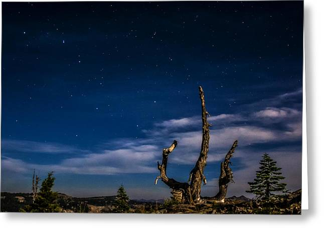 Lake Tahoe Big Dipper Greeting Card by Pelo Blanco Photo
