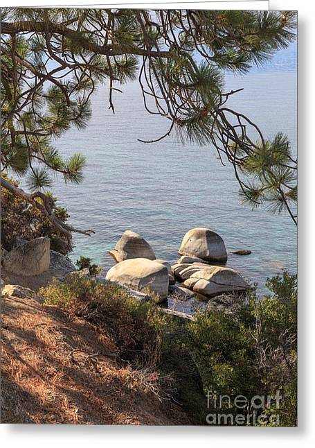 Tahoe National Forest Greeting Cards - Lake Tahoe Greeting Card by Jannis Werner
