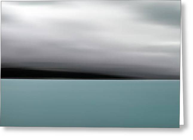 Blur Greeting Cards - Lake Tekapo - New Zealand Greeting Card by Ingrid Douglas