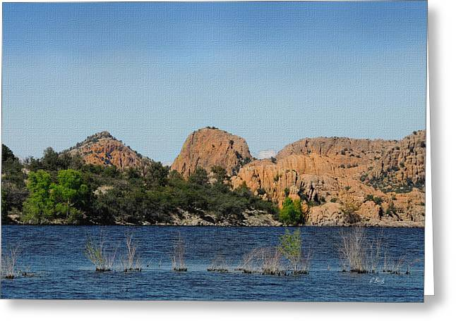 Watson Lake Greeting Cards - Watson Lake Greeting Card by Gordon Beck