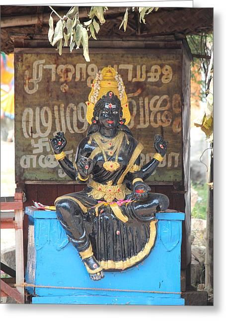 Lakshmi, Tiruvanamalai Greeting Card by Jennifer Mazzucco