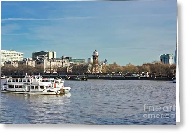 Lambeth London Greeting Card by Terri Waters