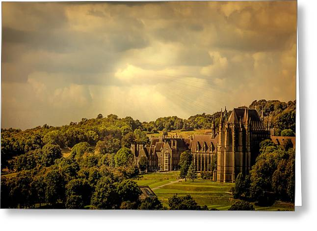 Country Schools Digital Greeting Cards - Lancing College Greeting Card by Chris Lord