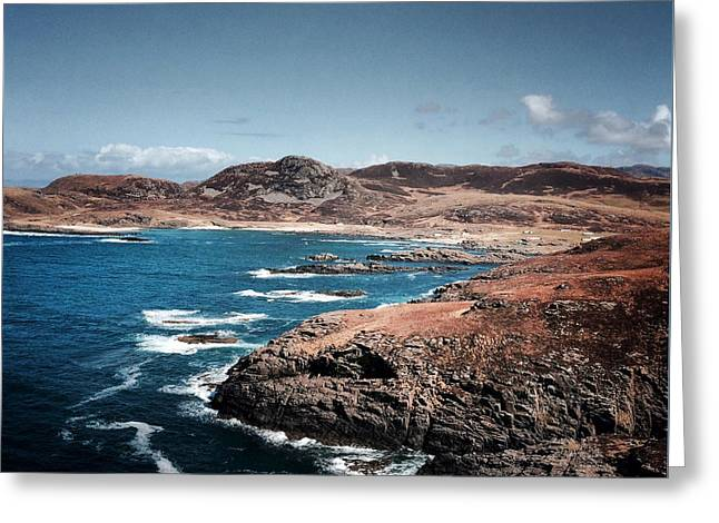 Land On The Edge Of The World - Ardnamurchan #5 Greeting Card by Kate Morton