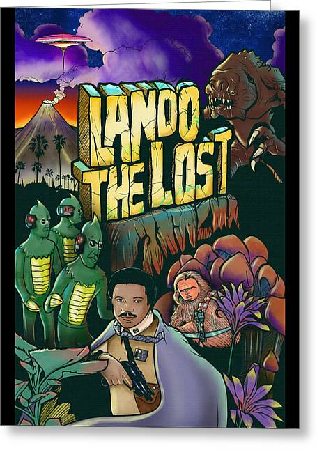 Lando The Lost  Greeting Card by Jason  Wright