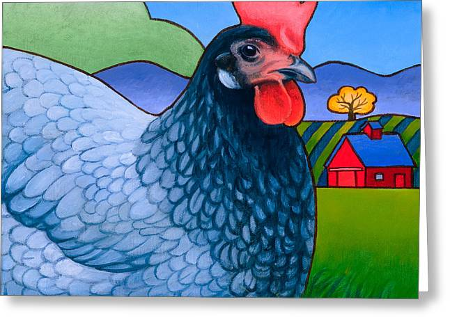 Rural Landscapes Greeting Cards - Langley the Island Girl Greeting Card by Stacey Neumiller