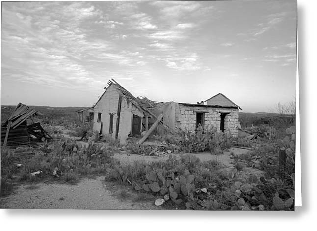 Langtry Greeting Cards - Langtry Texas Greeting Card by Jim Manganella