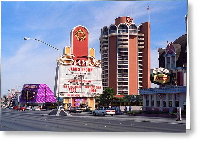 Las Vegas 1994 #1 Greeting Card by Frank Romeo