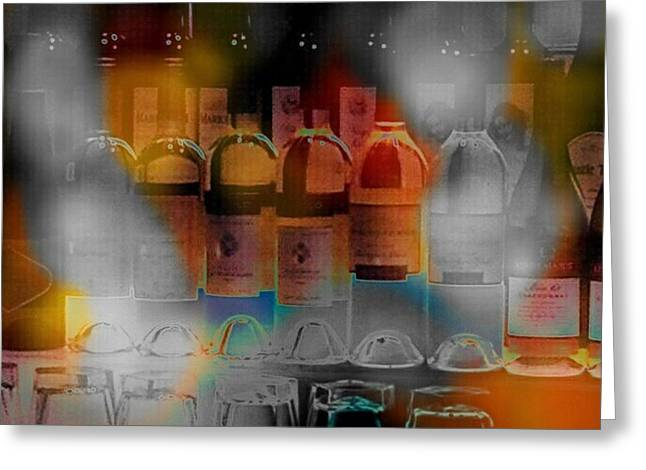 Wine Scene Greeting Cards - Last Call Greeting Card by Kevin Moore