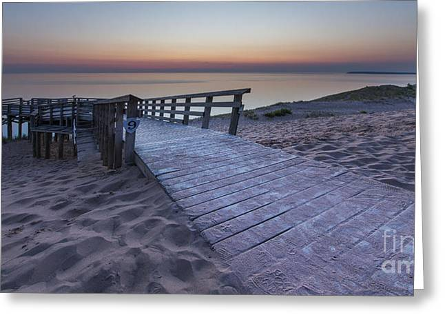 Scenic Drive Greeting Cards - Last Light along Pierce Stocking Scenic Drive Greeting Card by Twenty Two North Photography
