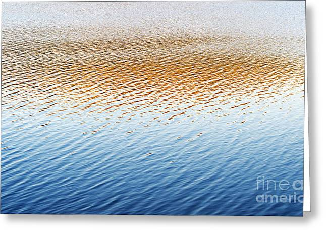 Calm Waters Greeting Cards - Last Light  Greeting Card by Tim Gainey