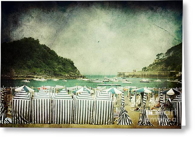 Beach Wear Greeting Cards - Last Sunday Greeting Card by Andrew Paranavitana
