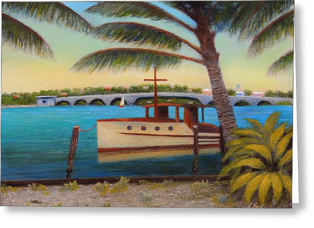 Jacksonville Greeting Cards - Late Afternoon Greeting Card by Gordon Beck