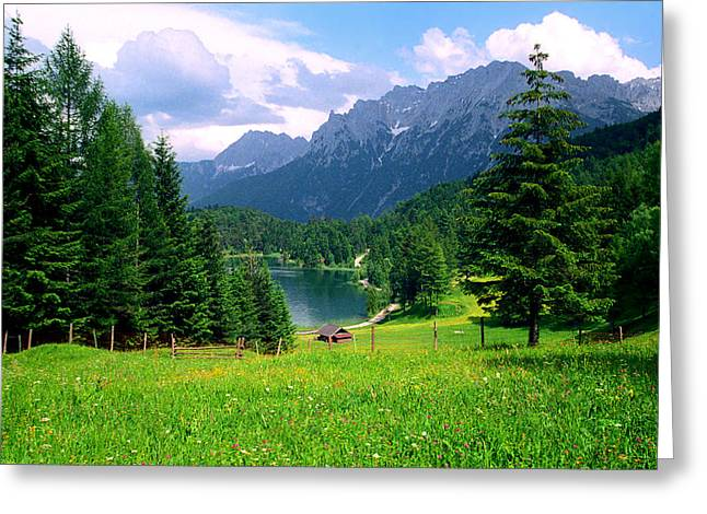 Kevin W. Smith Greeting Cards - Lautersee Greeting Card by Kevin Smith