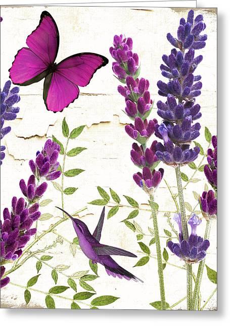 Lavande II Greeting Card by Mindy Sommers