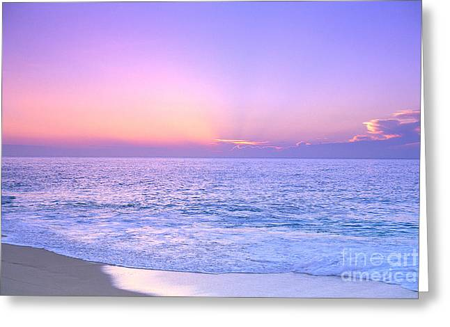 Vince Greeting Cards - Lavendar Sky Greeting Card by Vince Cavataio - Printscapes