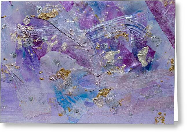 Lavender Haze Greeting Card by Don  Wright