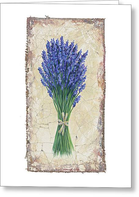 Lavender II Greeting Card by Danielle Perry