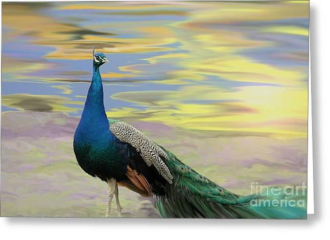 Healing Trauma Greeting Cards - Lavender Sunsets Greeting Card by Cheryl Gidding
