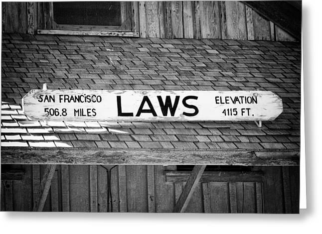 Owen County Greeting Cards - Laws Depot Greeting Card by Troy Montemayor