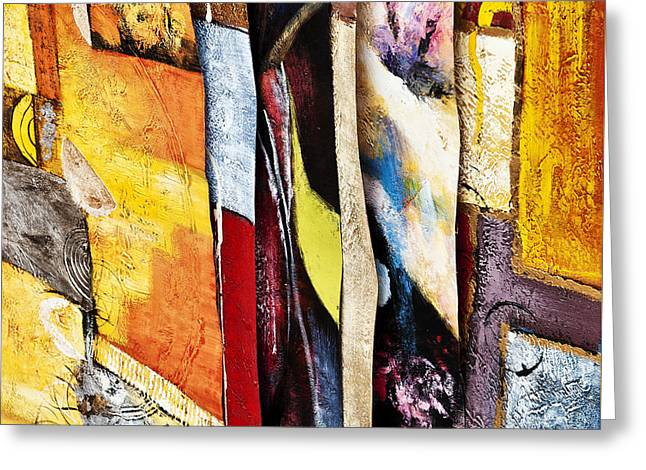 Layers Greeting Cards - Layers #1 Greeting Card by Giulio Marchetto