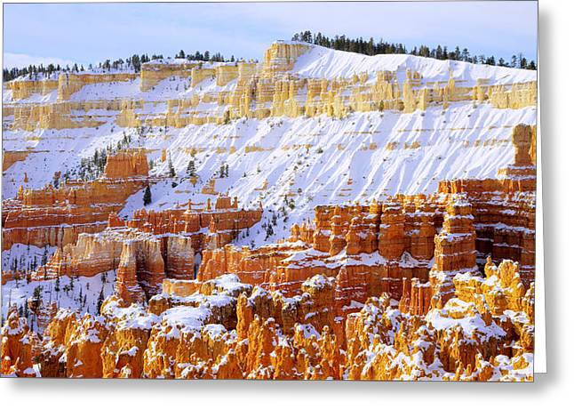Layers Greeting Card by Chad Dutson