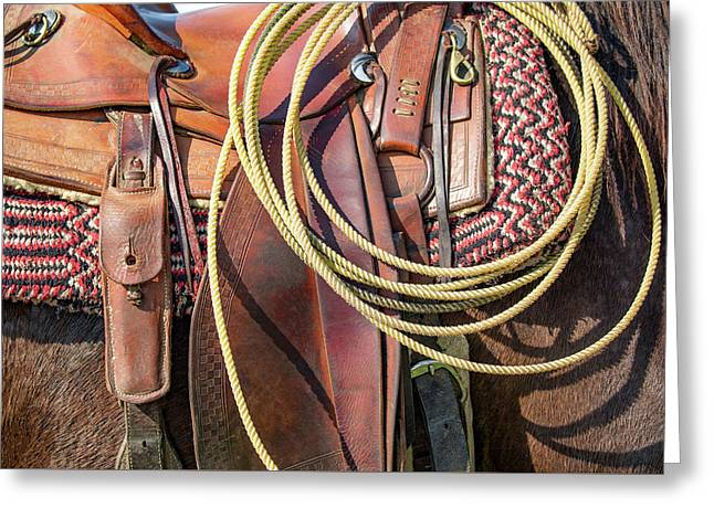 Layers Of Tack Greeting Card by Todd Klassy